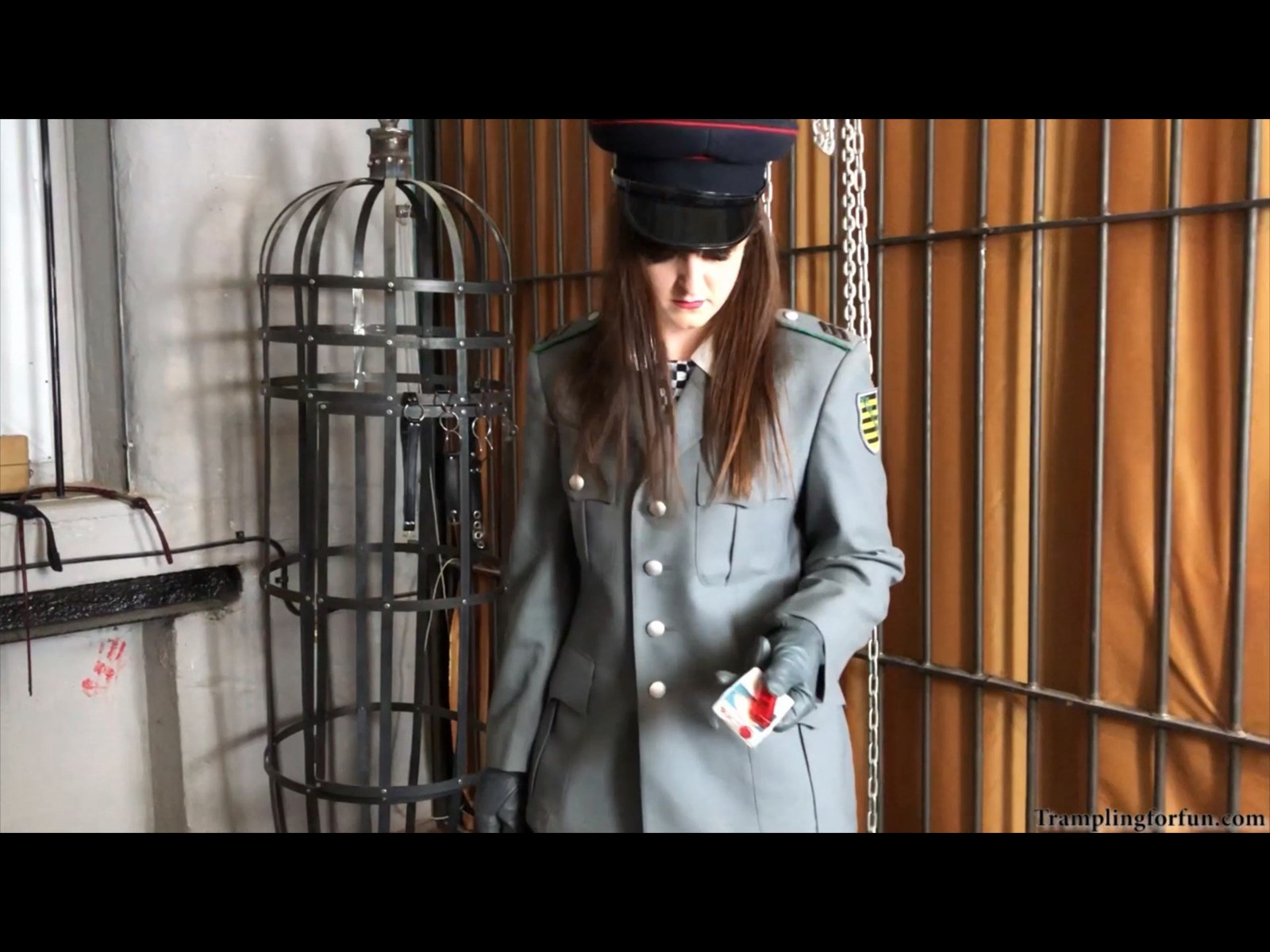 Gibbet Prison Cell Military Interrogation Roleplay BDSM Domination