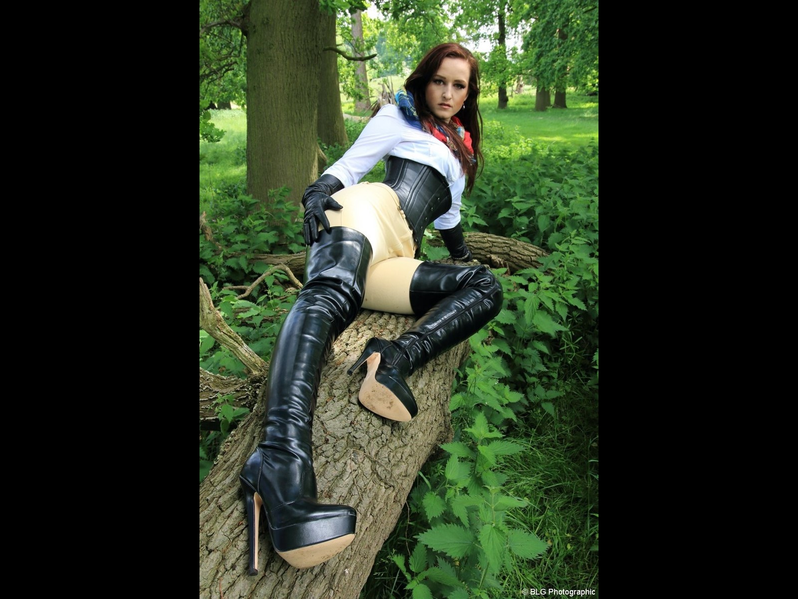 Worship My Long Legs and Leather Boots in Jodhpurs